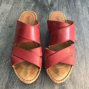 Born Cork Wedge Sandal